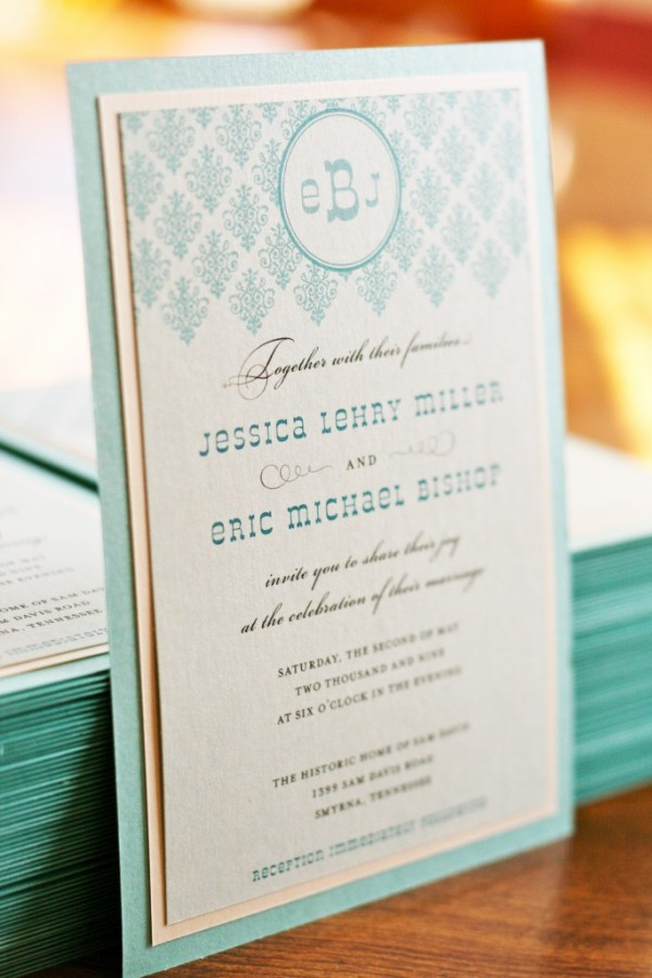 diy wedding invitation