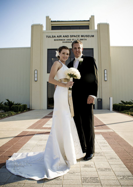 Plane Themed Wedding