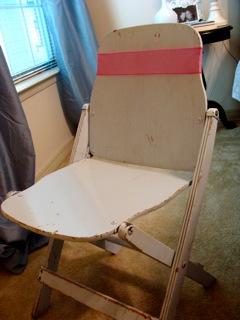 diy chair sash tutorial
