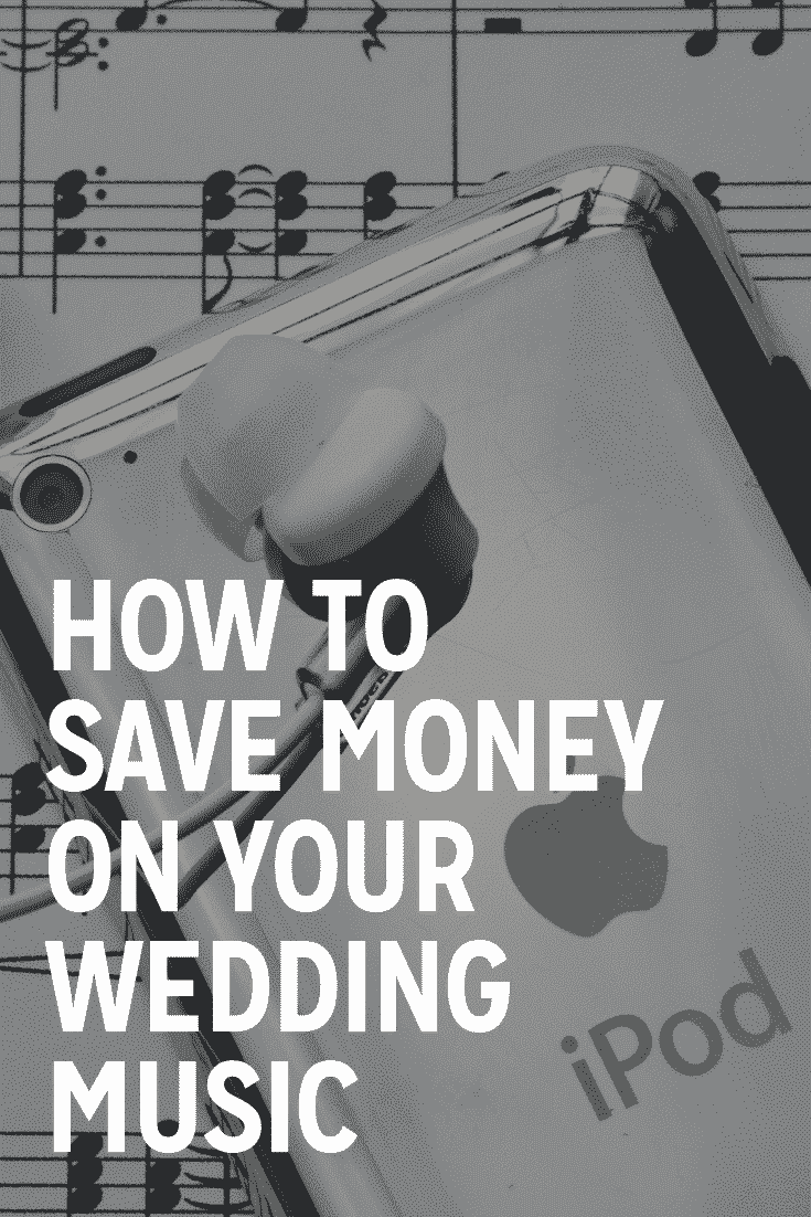 how to save money on your wedding music