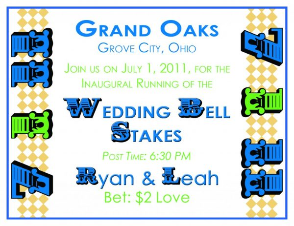 derby inspiration save the dates