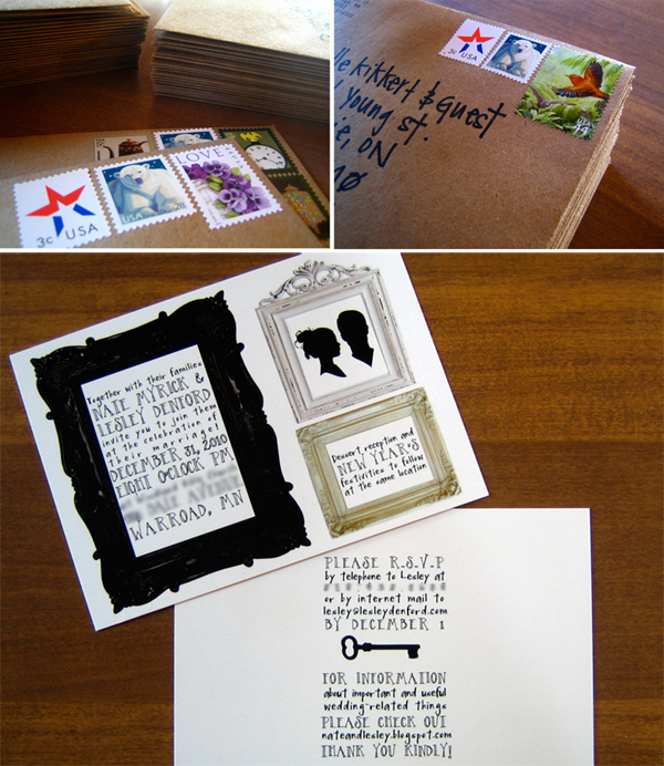 DIY Invites Without RSVP Cards