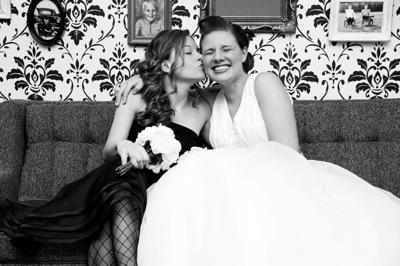 Lesley's wedding photos