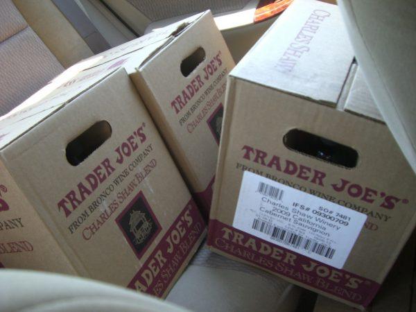 Trader Joe's wine