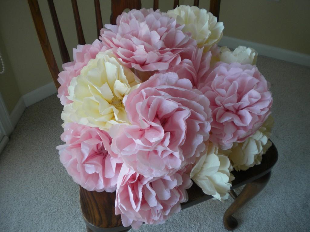 napkin paper flowers