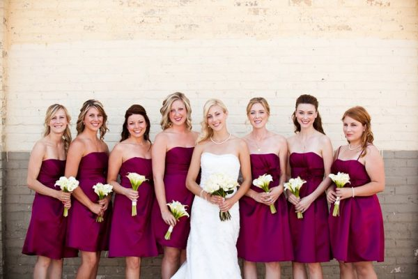 bridesmaid dress large bridal party