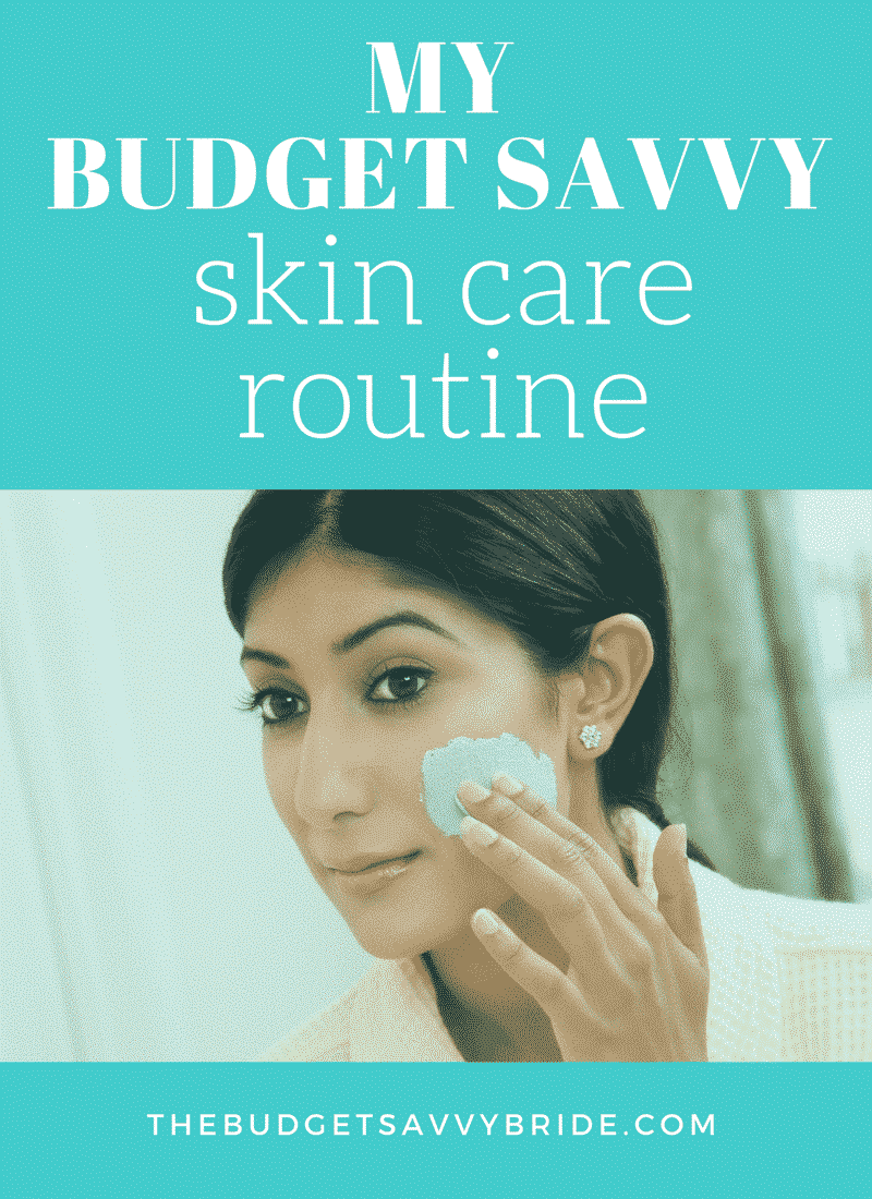 budget friendly skin care routine -- use items you can find in your pantry or the drug store!!