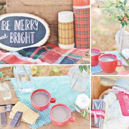 Cozy Vintage Holiday Inspiration // Rentals + Styling by Stockroom Vintage // Photos by Antebellum Photography