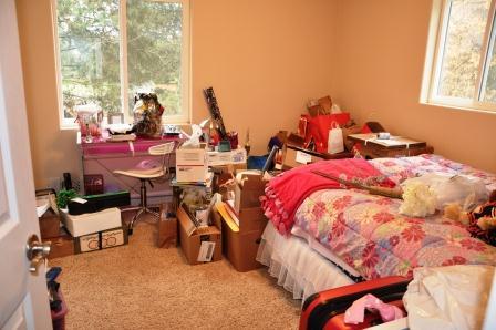 organizing wedding mess