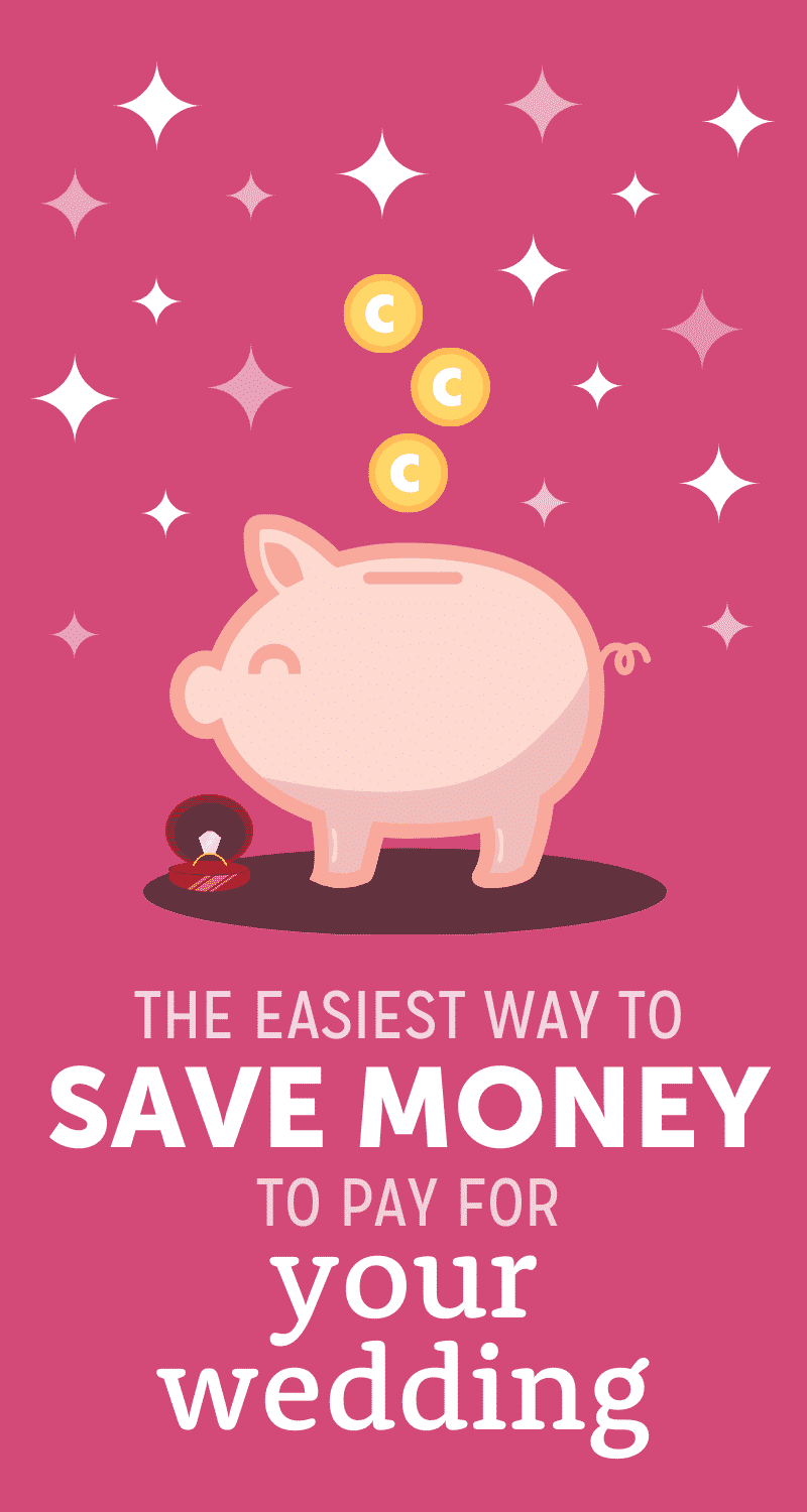 how to save money for your wedding