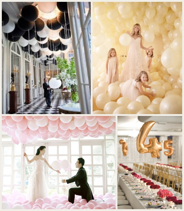 Make Your Wedding Look More Expensive with Balloons