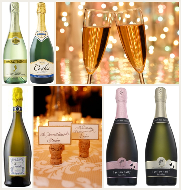 How to Make Your Wedding Look More Expensive -- Champagne!!