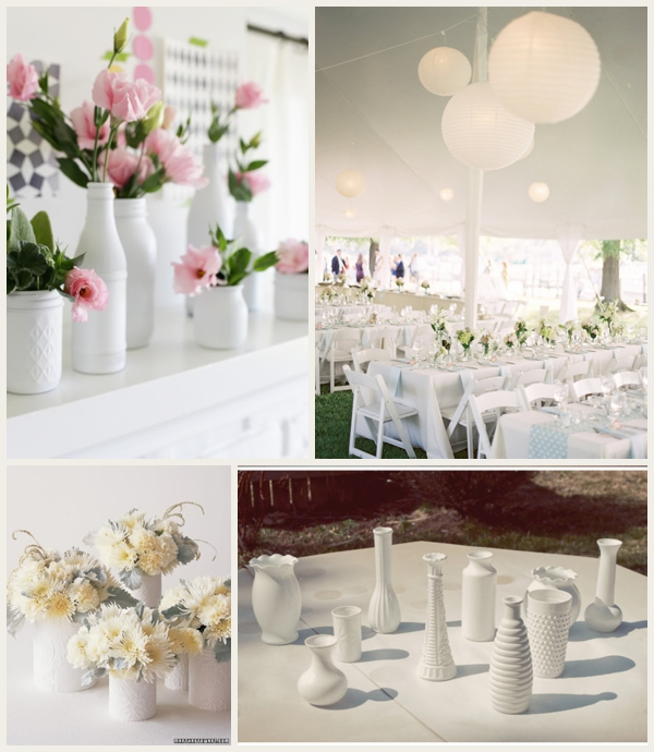 Make Your Wedding Look More Expensive with a White Color Scheme
