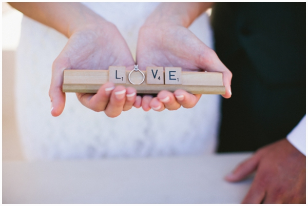 scrabble wedding