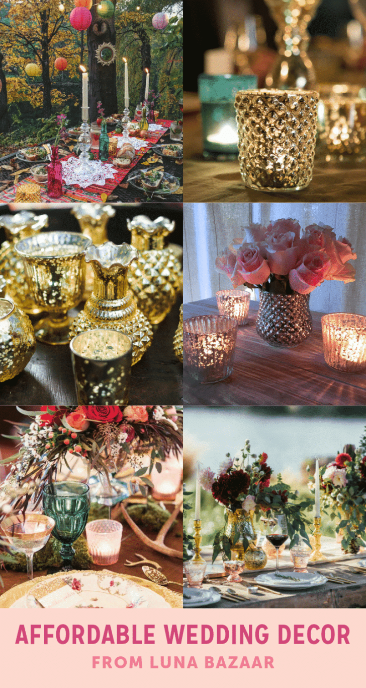 affordable wedding decor on luna bazaar