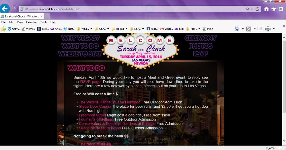Wedding website postcard Save-the-Dates