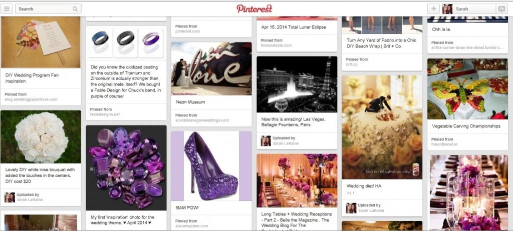 Purple Glam Wedding Inspiration
