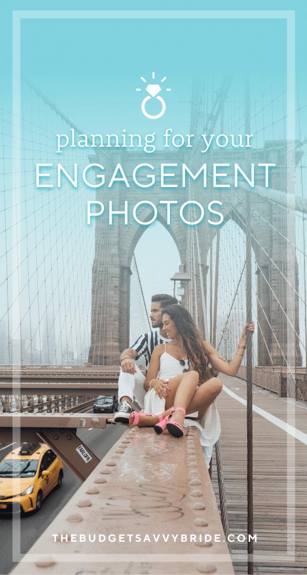 plan your engagement photos