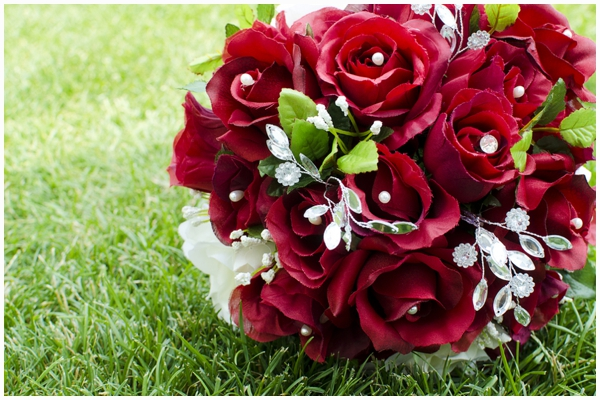 red and damask wedding_0009