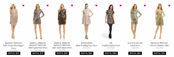 rent the runway new years eve
