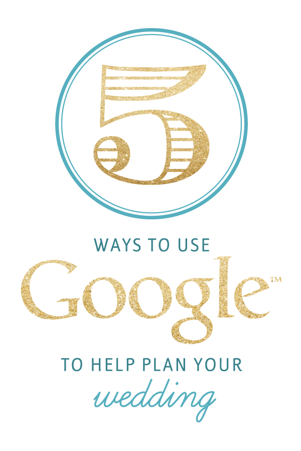 use google to plan your wedding