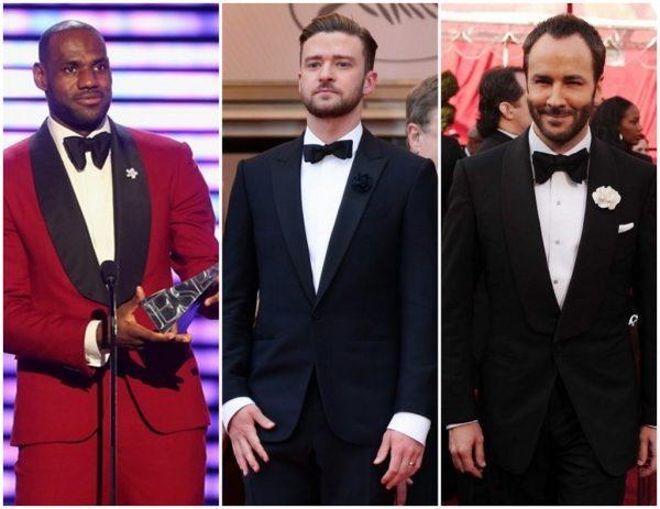 Celebrities in Flower Lapel Pin