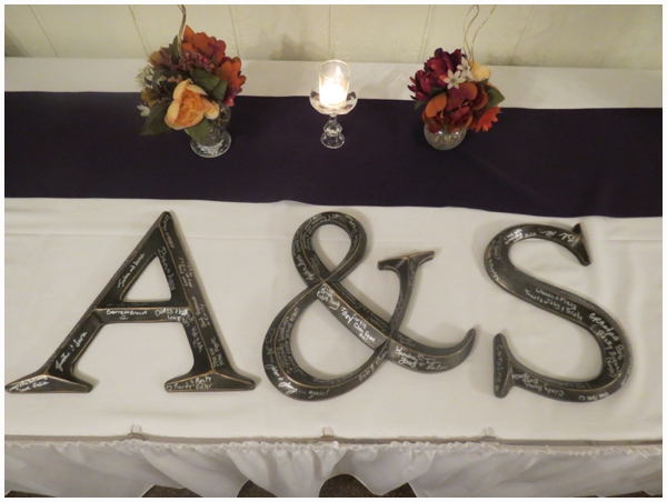 guest book letters