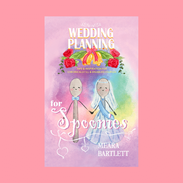 wedding planning for spoonies - wedding planning book for couples with disabilities