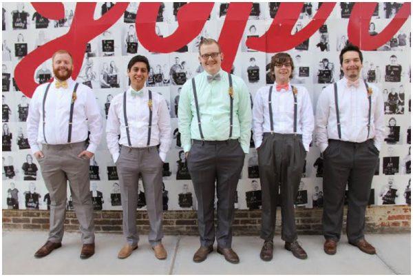 hipster groomsmen