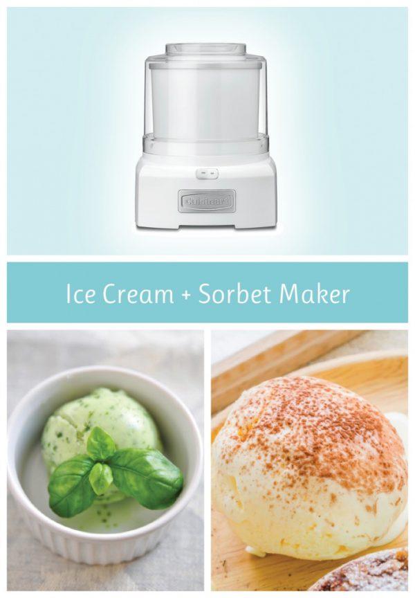 cuisinart ice cream and sorbet maker