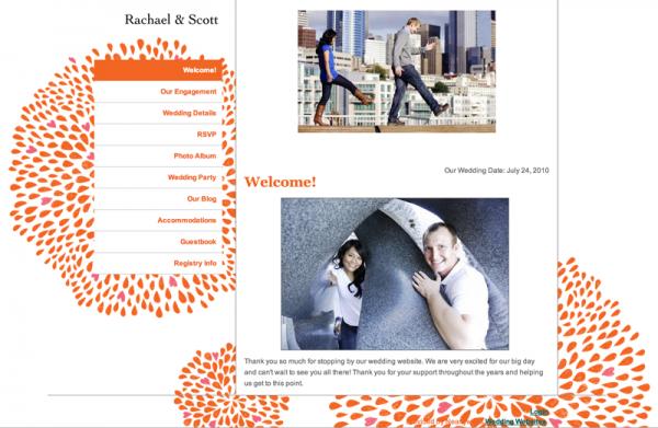 wedding website examples 2
