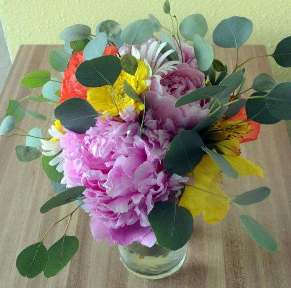 practice bouquet