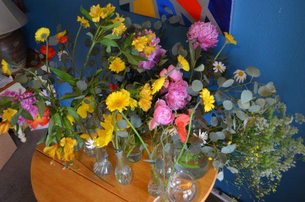my practice flowers