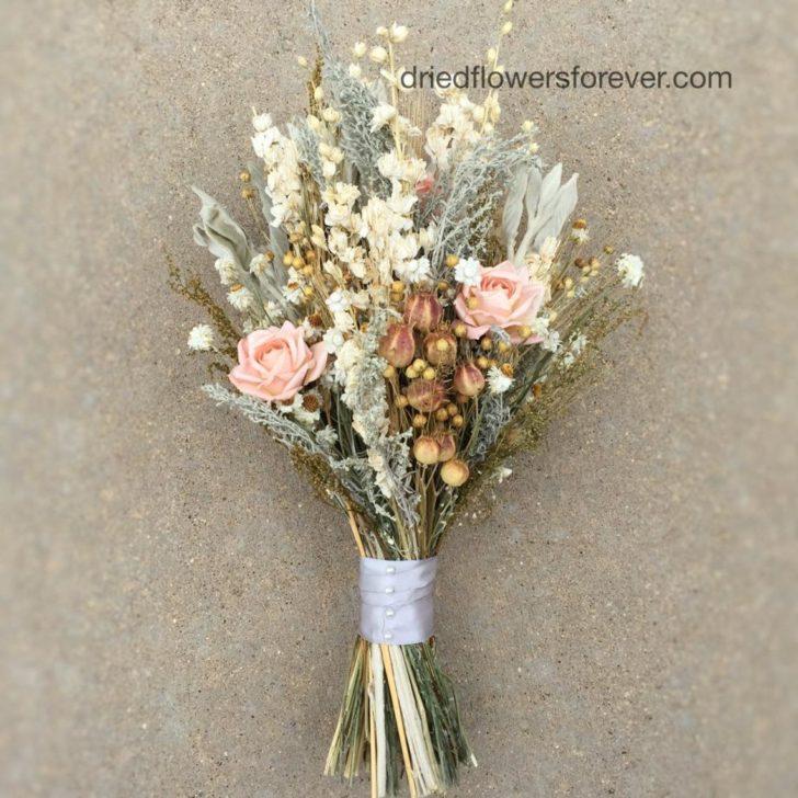 driedflowersforever on etsy - dried wedding flowers