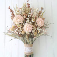 Sola flower wildflower dried flower bouquet