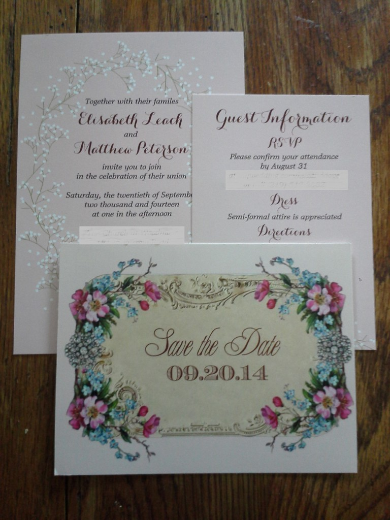 Wedding Stationery Using Online Print Services