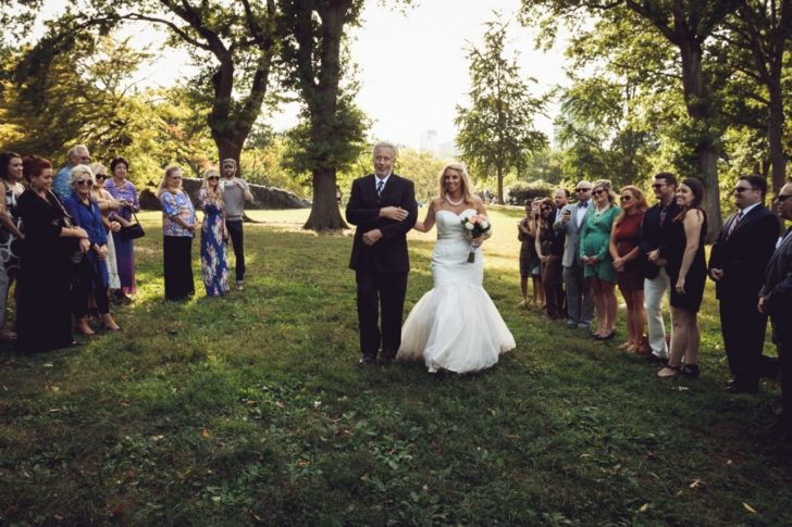 Cherry Hill Wedding Ceremony in Central Park - Photo by Le Image, Inc