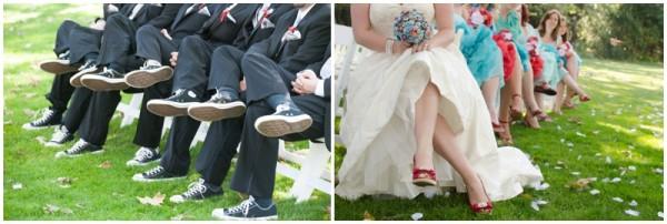 adorable red and aqua wedding_0017