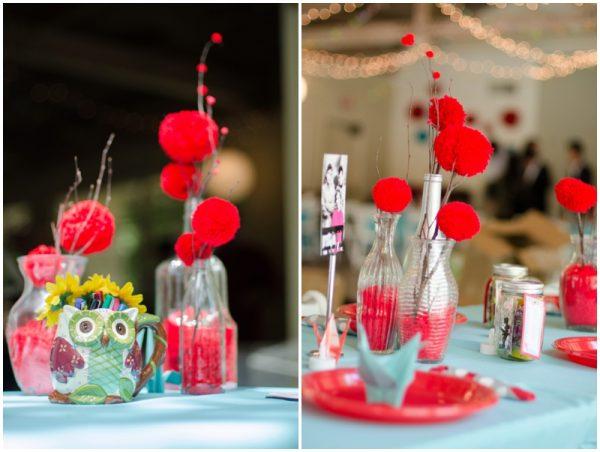 adorable red and aqua wedding_0020