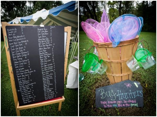 Crafty backyard wedding