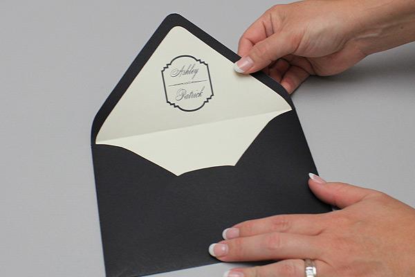 free elegant envelope liner