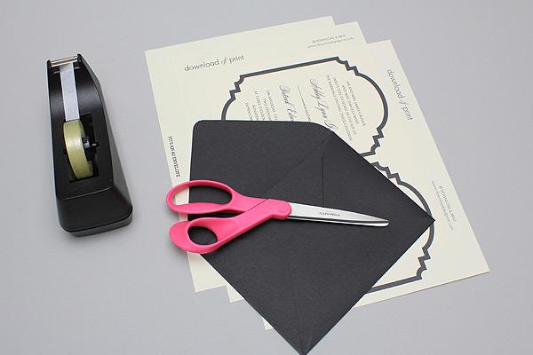 free printable die cut wedding invitation supplies