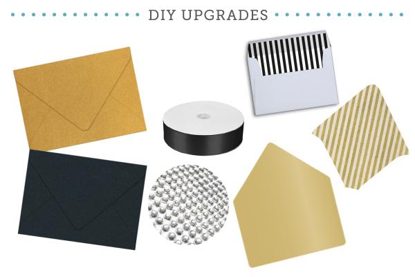 Classic Glam Upgrades for DIY Invitation Embellishments