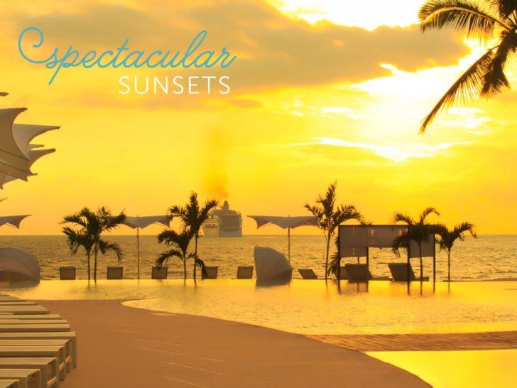 Puerto Vallarta Weddings + Honeymoons - spectacular sunsets