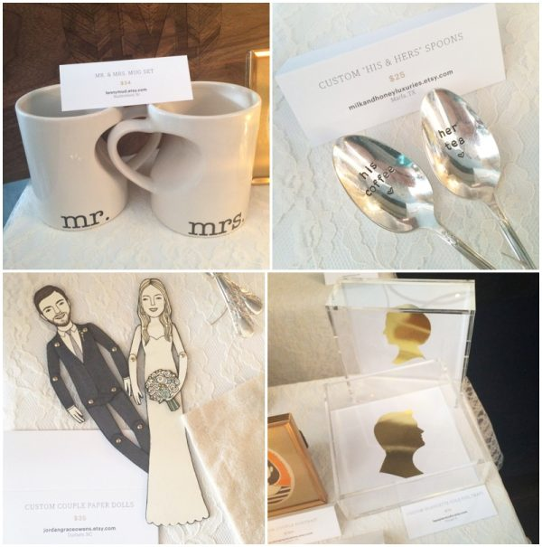 unique wedding gift ideas from etsy   etsy weddings spring 2015