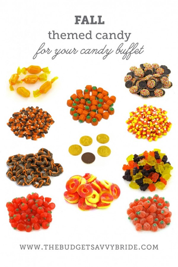 Fall Candy Buffet Ideas