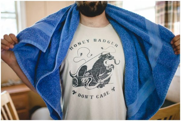honey badger tshirt