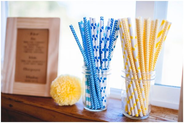 pom pom wedding decor