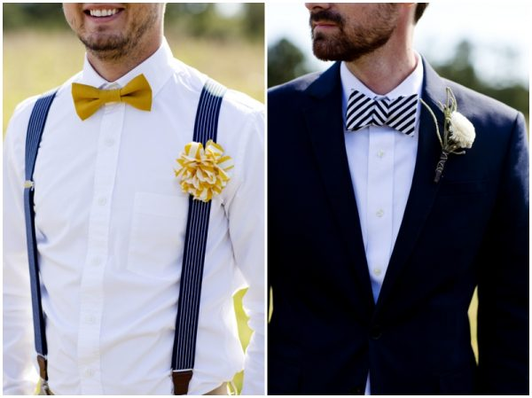 hipster groom rustic wedding