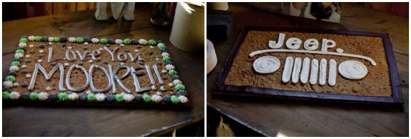 wedding cookie cakes